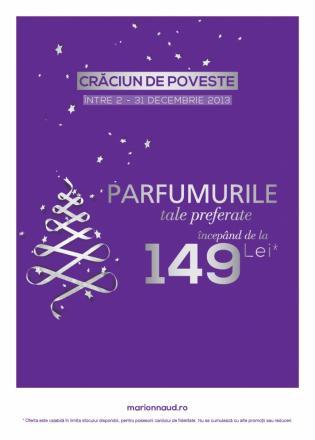 Promotie Marionnaud - Parfumurile preferate